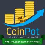 Comprobantes de Pago de CoinPot excelente microwallet para almacenar fracciones de BTC.