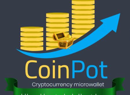 CoinPot es un microwallet que nos permite obtener ingresos por medio de sus 7 faucets gratis.