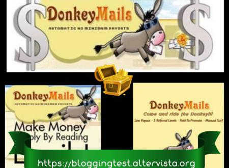 Comprobantes de pago de DonkeyMails una página veterana y fiable que paga regularmente.