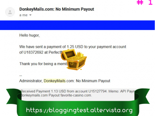 Cómo ganar dinero a través de DonkeyMails, guía completa, estrategia y trucos.