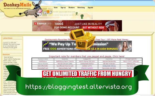 DonkeyMails es una excelente página multiplataforma que nos permite no solo ganar dinero leyendo emails Donkeymails_thumb