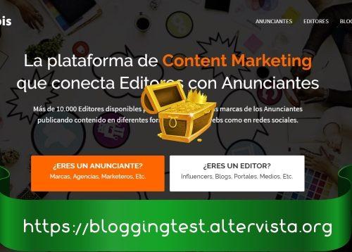 Comprobantes de Pago de Coobis página para ganar dinero con Blogs y Redes Sociales.