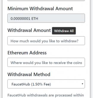 Las mejores faucets para ganar fracciones de Ethereum gratis.