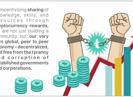 Trybe.one la nueva comunidad para ganar tokens escribiendo, comentando y participando.