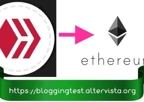 Guías y tutoriales de HIVE: cómo convertir los tokens HIVE en Ionomy en BTC y luego en ETH.